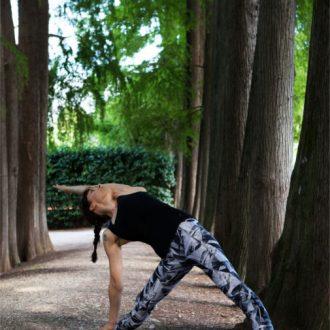 yoga asana triangolo